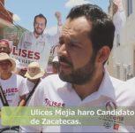 """Siempre sera atacado el que valla arriba en la contienda """"Ulises Mejia"""""""